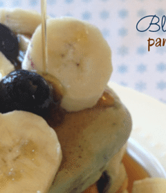 Protein-Packed Blueberry Pancakes