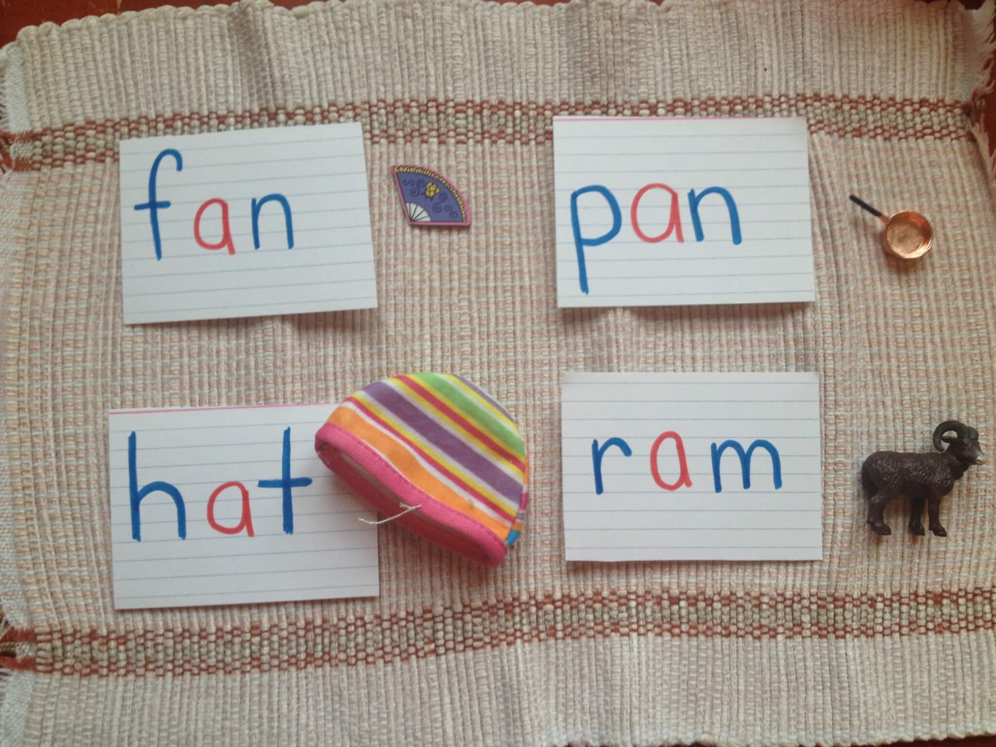 Montessori Pink Series Cvc Language Object Boxes ⋆ Sugar