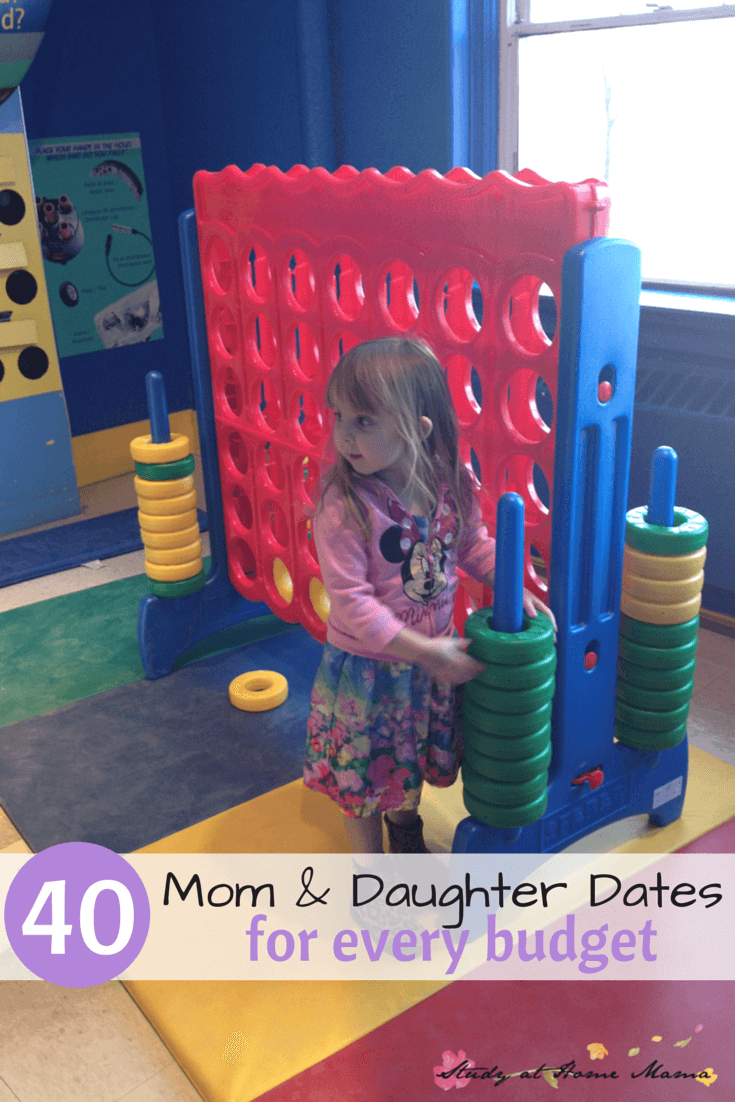 Check out a local attraction -- like a children's museum. One of 40 Mom & Daughter dates for every budget.