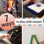 7 Ways to Learn & Play with Straws