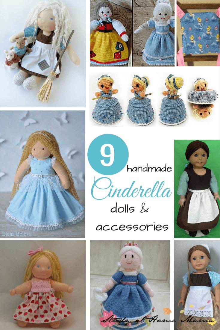 9 Handmade Cinderella Dolls & Accessories
