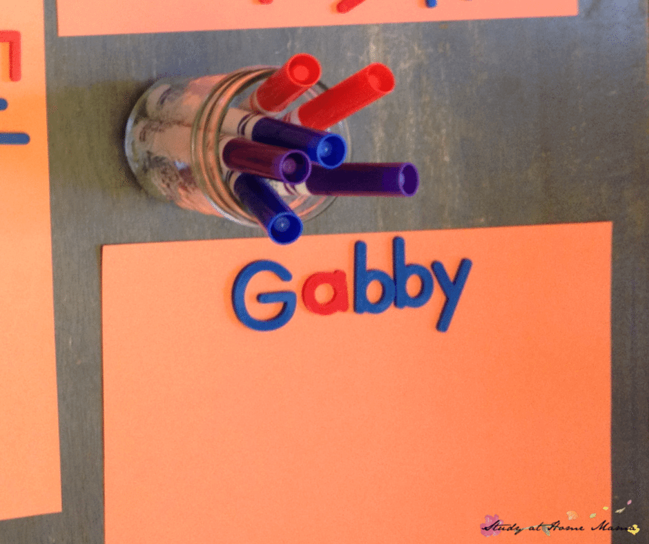 Moveable Alphabet - 7 Ways to Teach Your Child to Write Their Name