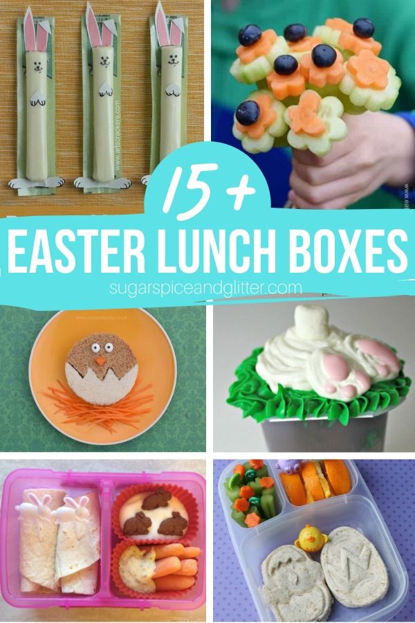 15 Easter Lunch Box and snack ideas, including bunny-themed ideas that can be used all year round. Your kids are going to love these Easter snacks