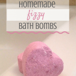 DIY Fizzy Bath Bombs