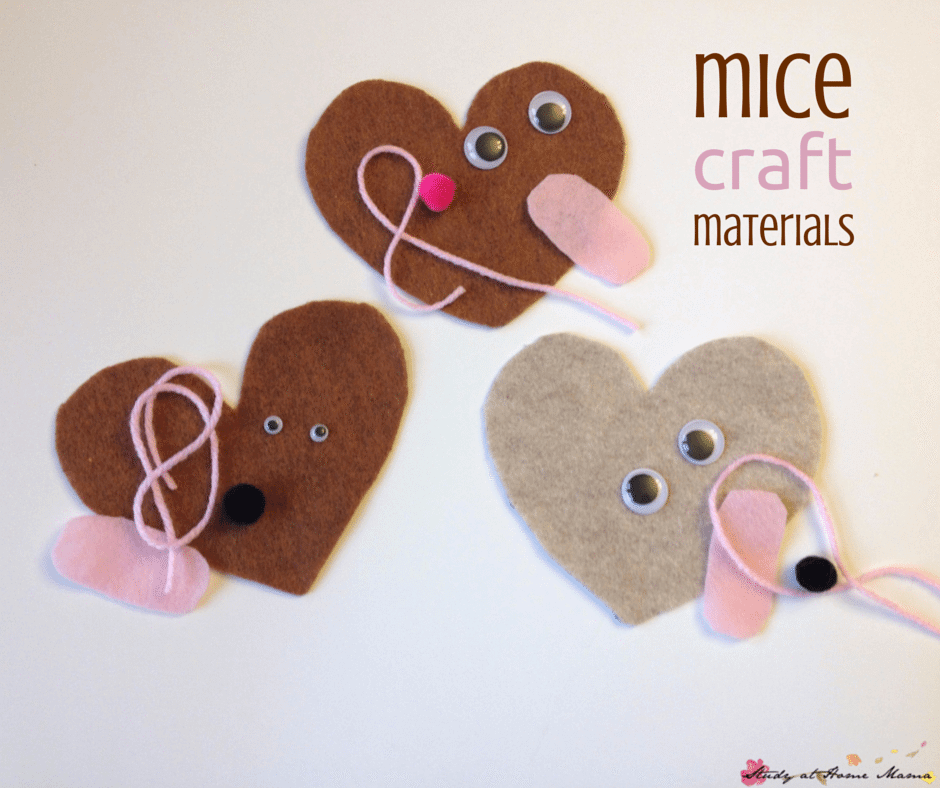 Mice Craft Materials