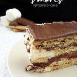 10-Minute S'mores Refrigerator Cake