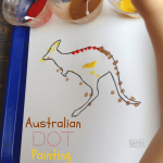 Kids Craft Ideas: Aboriginal Dot Painting