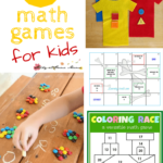 25 Math Games for Kids