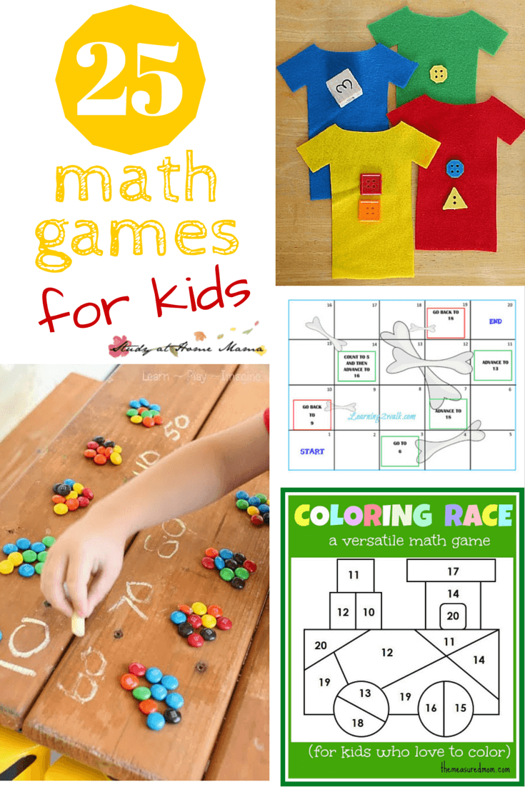 25 Math Games for Kids ⋆ Sugar, Spice and Glitter