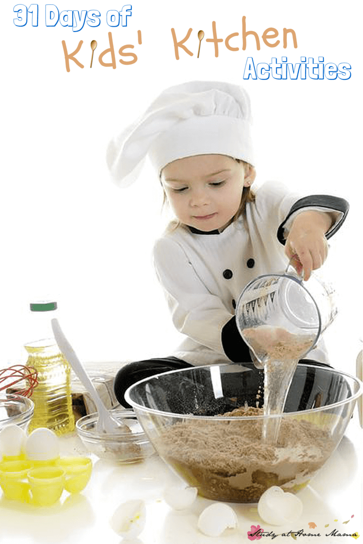 31 Days of Kids\' Kitchen Activities ⋆ Sugar, Spice and Glitter