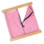 Montessori Practical Life Lesson: The Zipper Dressing Frame