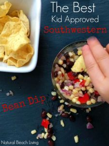 Best Southwestern Bean Dip from Natural Beach Living