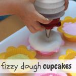Fizzy Dough Cupcakes