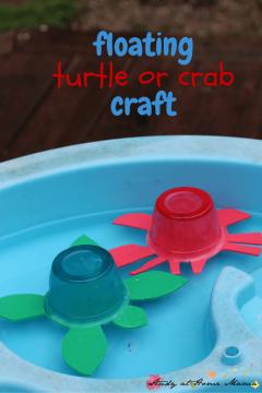 Floating Turtle Craft