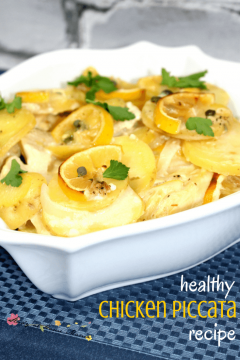 Healthy Chicken Piccata Recipe