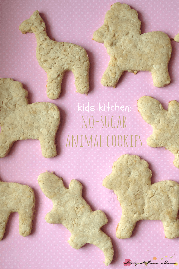 Kids Kitchen Sugar Free Animal Cookies Recipe Made By An Easy Healthy