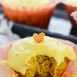 Mango Cupcakes with Fresh Mango Buttercream (with Video)