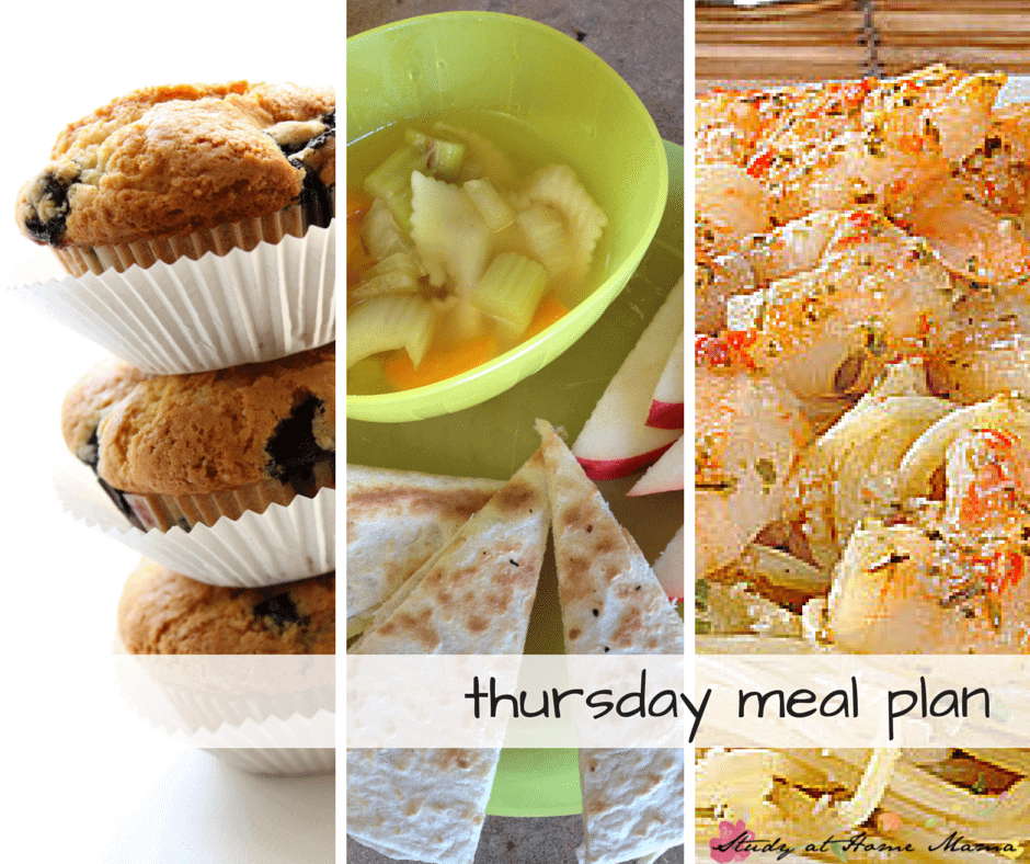 Thursday meal plan - Day Four of a 7 Day Healthy Meal Plan, complete with free printable meal plan and grocery list