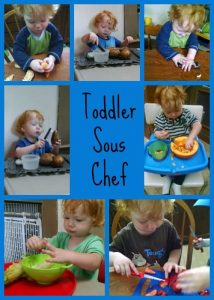 Toddler Sous Chef from Something2Offer