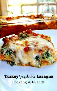Turkey Vegetable Lasagna from Rhythms of Play