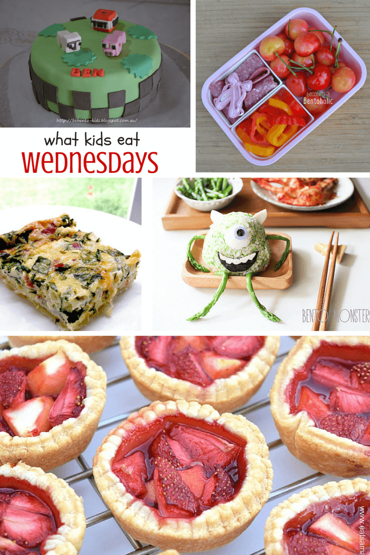 What Kids Eat Wednesdays - a weekly collection of fun ideas for kids lunches, easy healthy recipes your family will love, and special occasion treats!