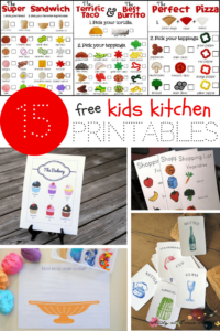 15 Free Kids' Kitchen Printables