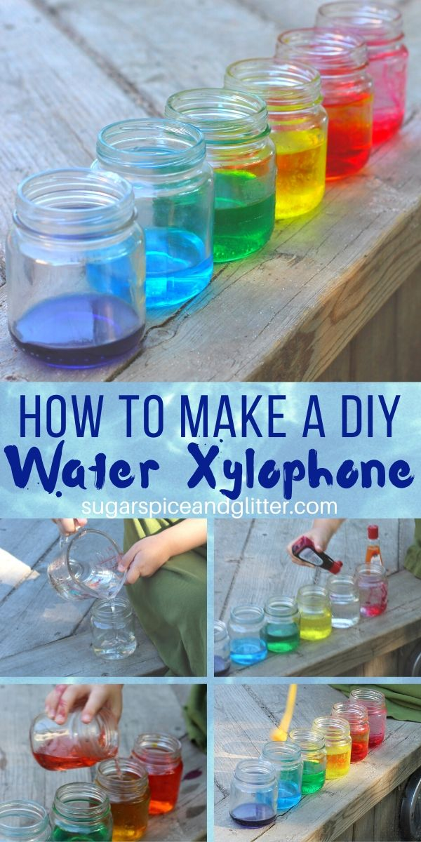 A fun kitchen science experiment that combines art, music, math and science - plus free printable Scientific Method for kids to use to practice their science skills while playing