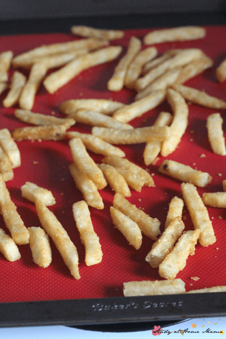 Tips for making crispy french fries at home - perfect for making poutine!