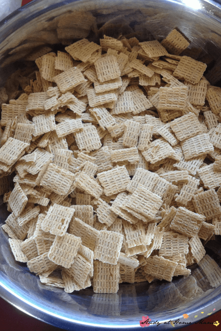 chex mix process