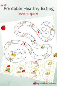 Free Healthy Eating Printable Board Game