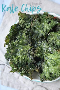 Kids Kitchen: Kale Chips