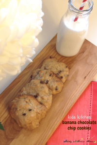 Kids' Kitchen: Banana Chocolate Chip Cookies