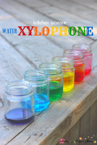 Kitchen Science: Water Xylophone