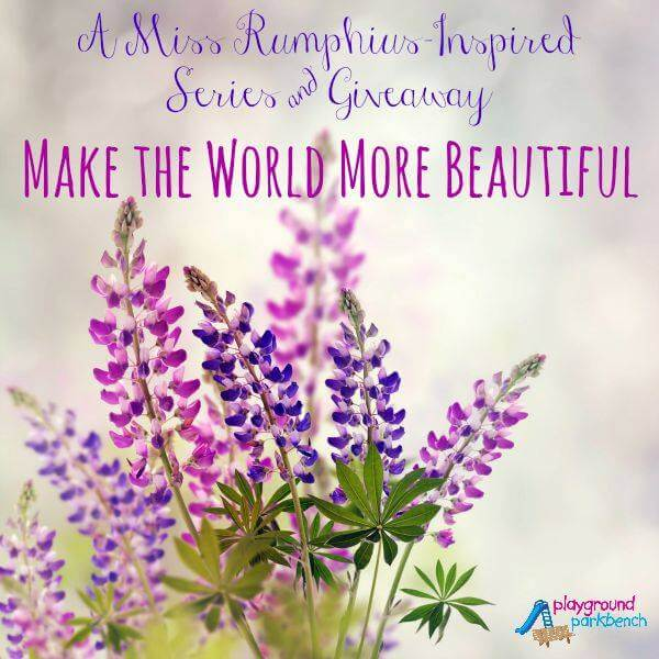 Miss Rumphius Inspired Activities and Give-away