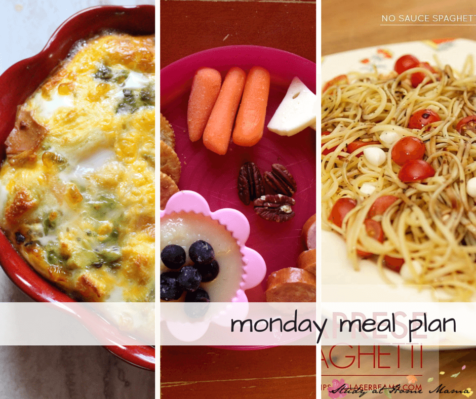 Easy Healthy Meal Plan - includes free printable meal plan and grocery shopping list.