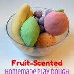 Fruit-Scented Play Dough