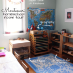 Montessori Homeschool Room Tour