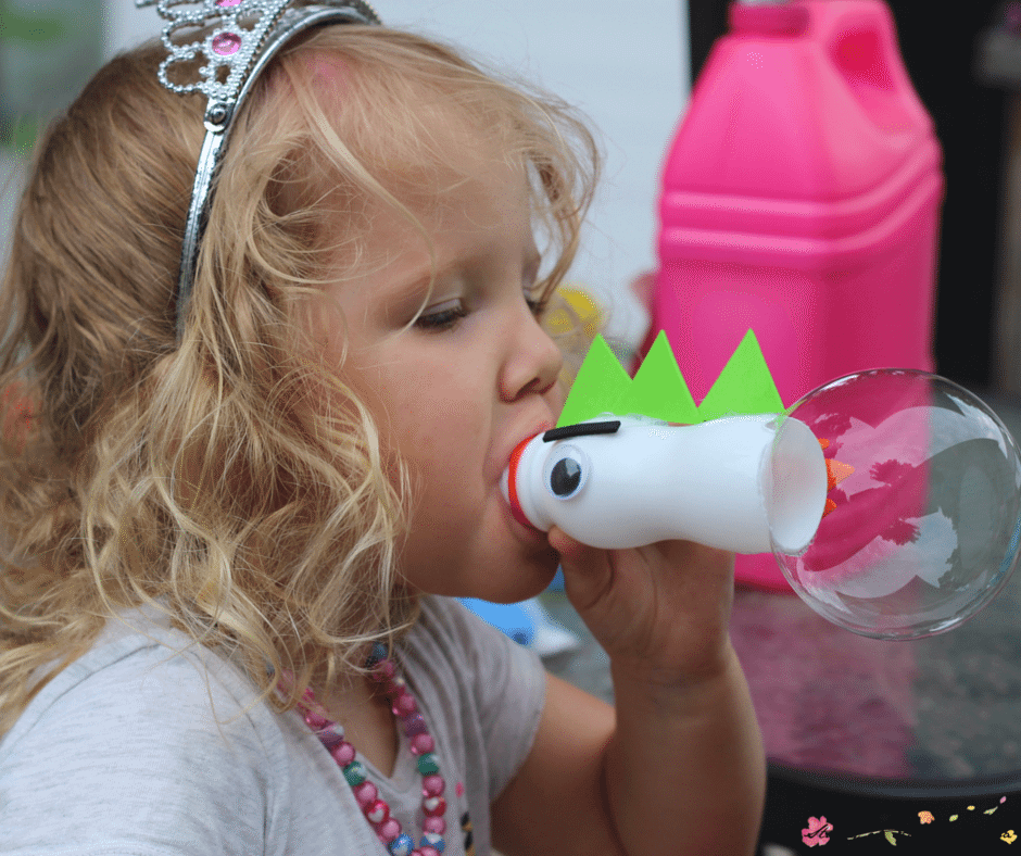 "This easy ""Puff the Magic Dragon"" bubble blower is a great craft to try after reading Puff the Magic Dragon, and helps children practice deep breathing - an overlooked sensory need!"
