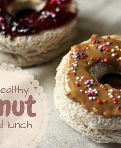 Donut Lunch Box Idea