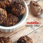 Kids' Kitchen: Nutella Energy Bites