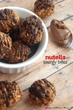 Kids' Kitchen: Nutella Energy Bites