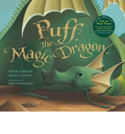 Puff the Magic Dragon Storybook - the inspiration for our Puff the Magic Dragon unit study!