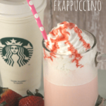 Starbucks Strawberry Frappuccino Recipe