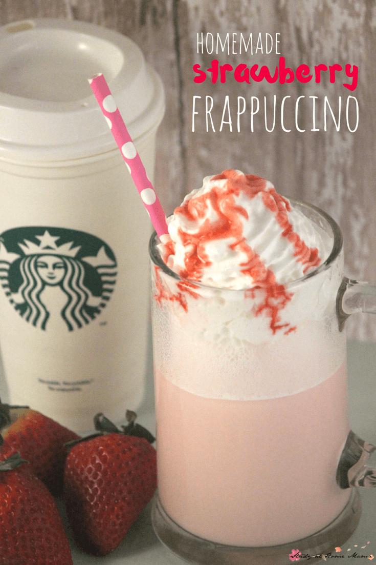 Starbucks Strawberry Frappuccino Recipe