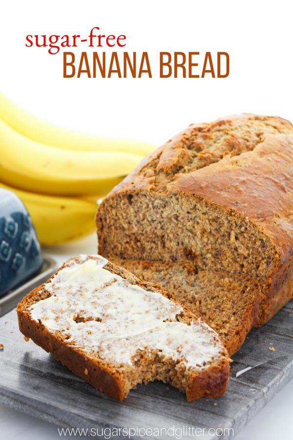 Sugar Free Banana Bread With Video Sugar Spice And Glitter