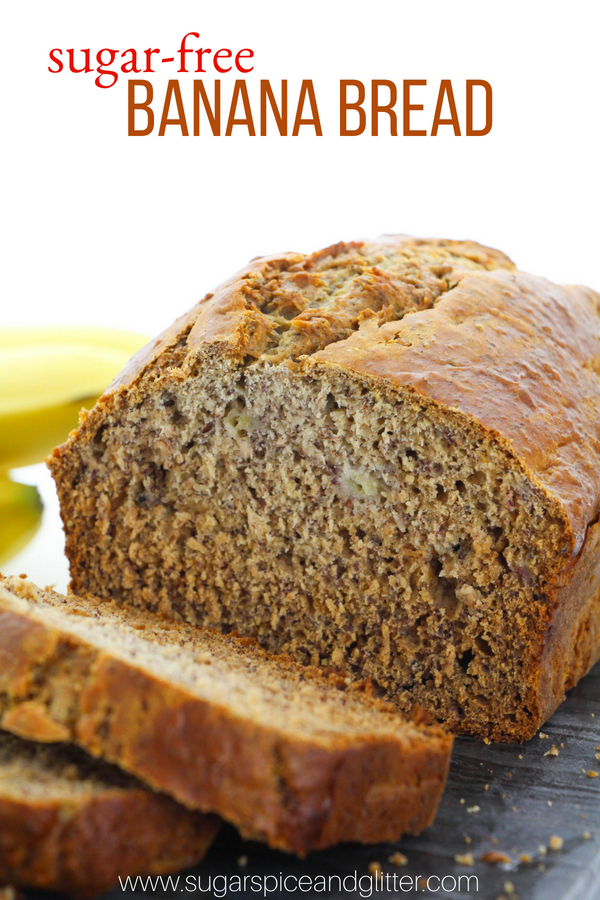 A delicious sugar-free banana bread recipe sweetened with honey. This easy breakfast loaf is perfect for a healthy brunch or an afternoon snack