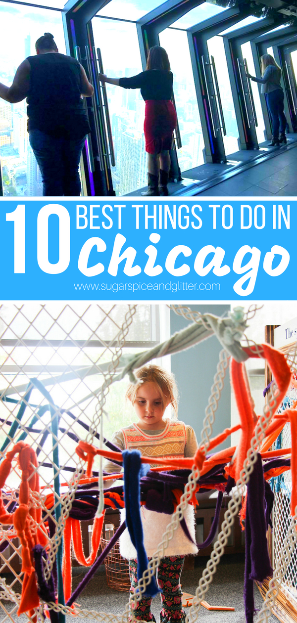 If you're planning a Chicago family vacation, you need to check out our family's top 10 Chicago activities for kids - everything from sky-high thrills to the best museums that your kids could spend hours in