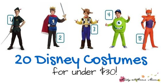 20 Disney Costumes for under $30