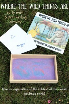 Where the Wild Things Are Sand Tray Activity