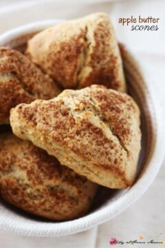 Apple Butter Scones Recipe (With Video)